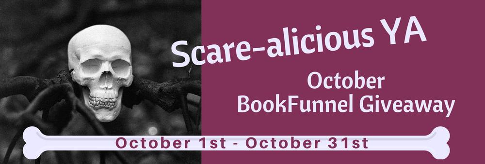 Scare-alicious YA banner